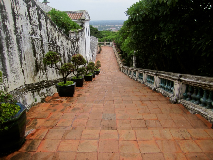 Steps at King Rama IV Summer Palace, Thailand